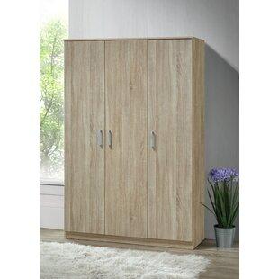 Dejong 3 Door Corner Wardrobe By Natur Pur