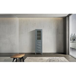 Highland Creek 18 W x 65 H Linen Storage Tower by Ebern Designs
