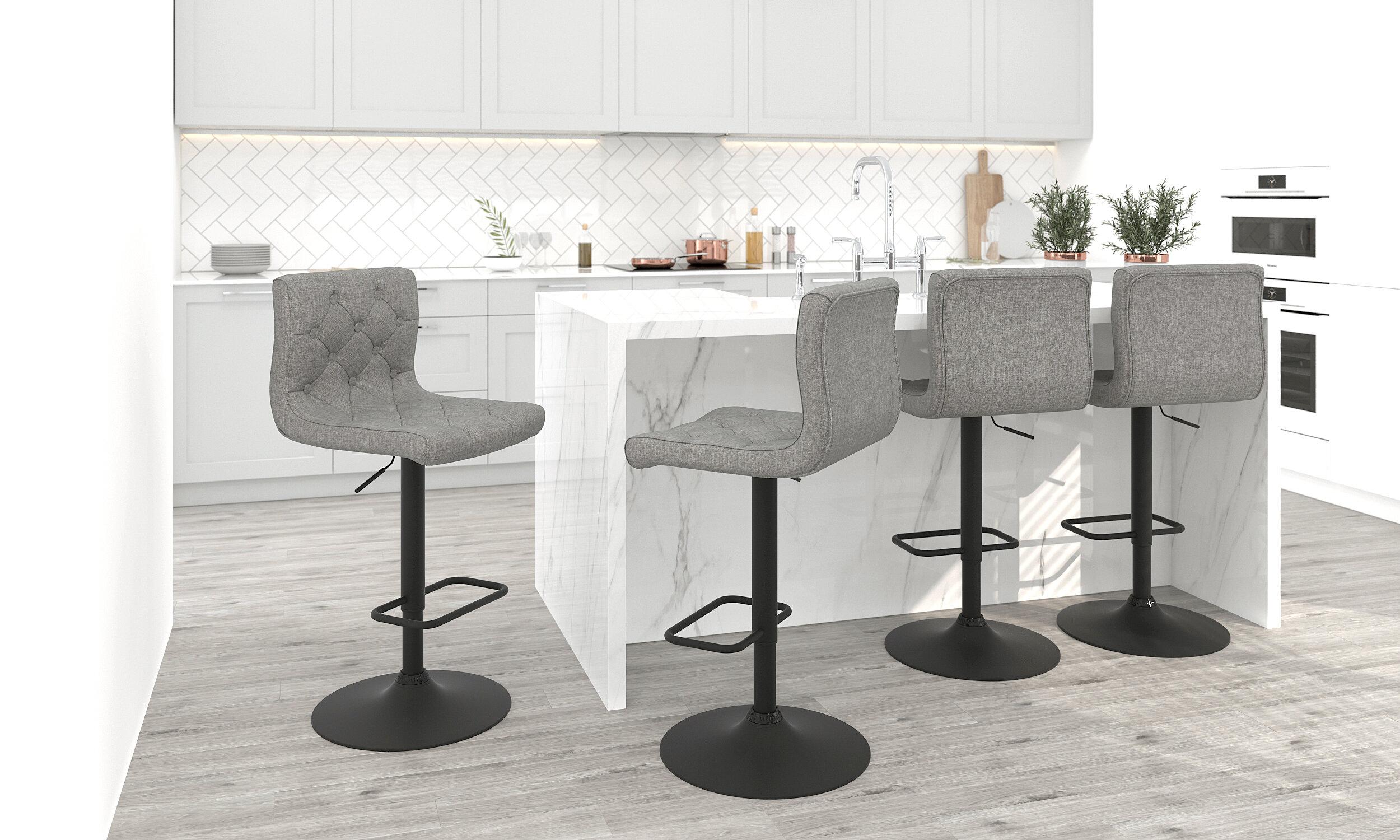 Awe Inspiring Witney Adjustable Height Swivel Bar Stool Ncnpc Chair Design For Home Ncnpcorg