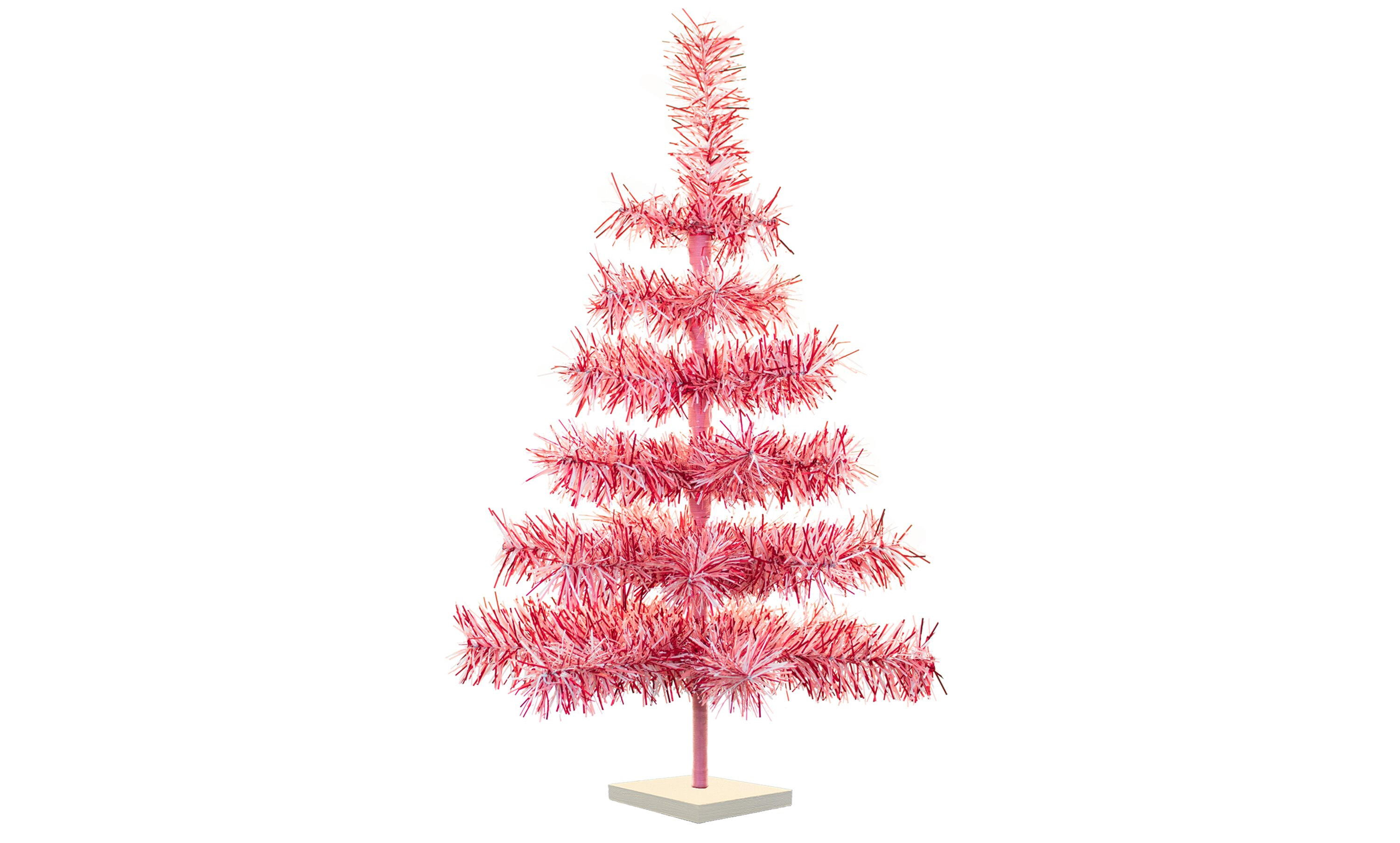 The Holiday Aisle Valentine S Day Pink Artificial Christmas Tree Reviews Wayfair