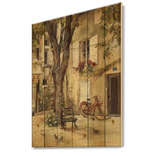 b47734848da8a8 French Country 'Provence French Village I' Print on Wood