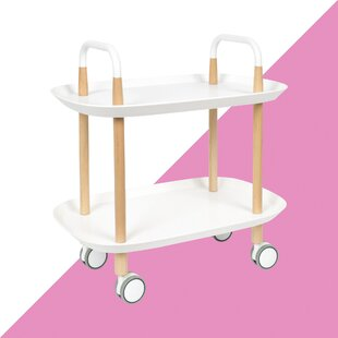 Chaliah Serving Cart By Hashtag Home