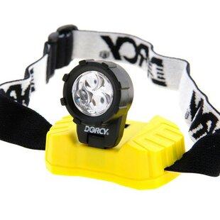 Dorcy 28-Lumen 3-LED Headlamp