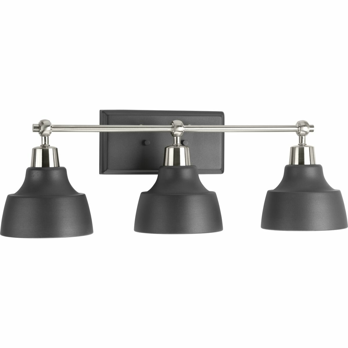 Ivy Bronx Mable 3 Light Dimmable Brushed Nickel Vanity Light Reviews Wayfair