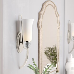Buying Macced 1-Light Bath Sconce By Red Barrel Studio