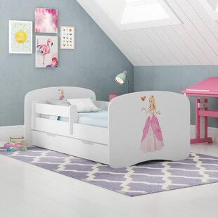 Princess Matilda Convertible Toddler Bed With Drawer By Zoomie Kids