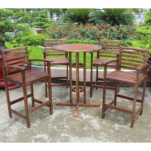 Michaela 5 Piece Bar Height Dining Set by..