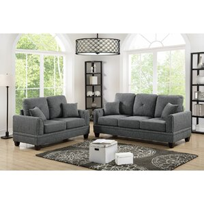 Champine 2 Piece Living Room Set by Alcott H..