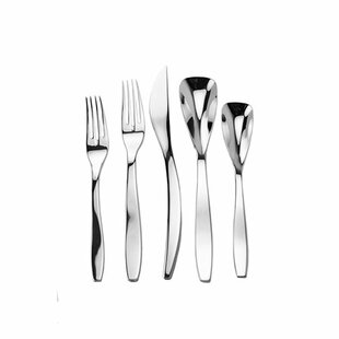 Isla Splendid 45 Piece Flatware Set, Service for 8