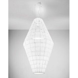 Burtrum 15-Light Geometric Chandelier by Orren Ellis