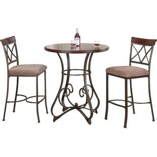Lina 3 Piece Pub Table Set