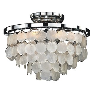 Ferry Pass 6-Light Flush Mount by Beachcrest Home