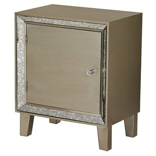 Pellegrin End Table With Storage by House of Hampton