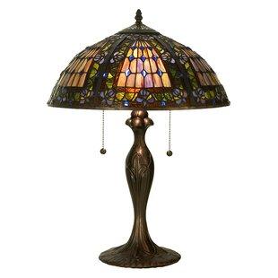 Victorian Gothic Fleur-De-Lis 22.5 Table Lamp