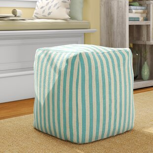 Adelmo Sanibel Pouf by Highland Dunes