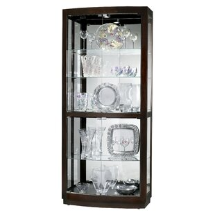 Breaux Lighted Curio Cabinet