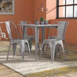 Betsey 5 Piece Dining Set by Williston Forge