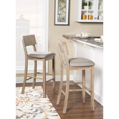 Magnificent Beachcrest Home Bonifay Counter Bar Stool Color Gray Wash Gamerscity Chair Design For Home Gamerscityorg