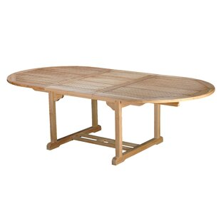 Bermuda Teak Oval Dining Table by Arbora Teak