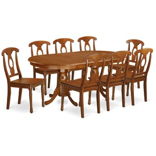 Germantown 9 Piece Extendable Dining Set by DarHome Co Bargain