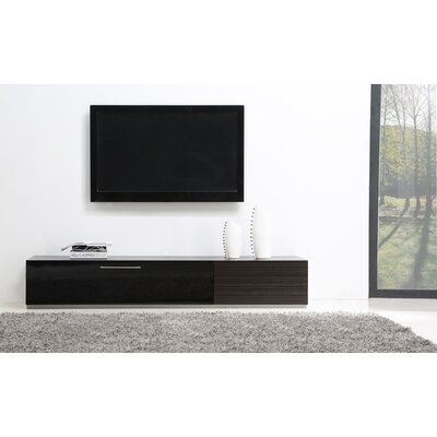 B-Modern Producer TV Stand for TVs up to 88 Color: Ebony