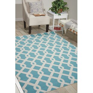 Sun N' Shade Blue Indoor/Outdoor Area Rug