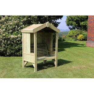 Saint Albans Wooden Arbour By Sol 72 Outdoor