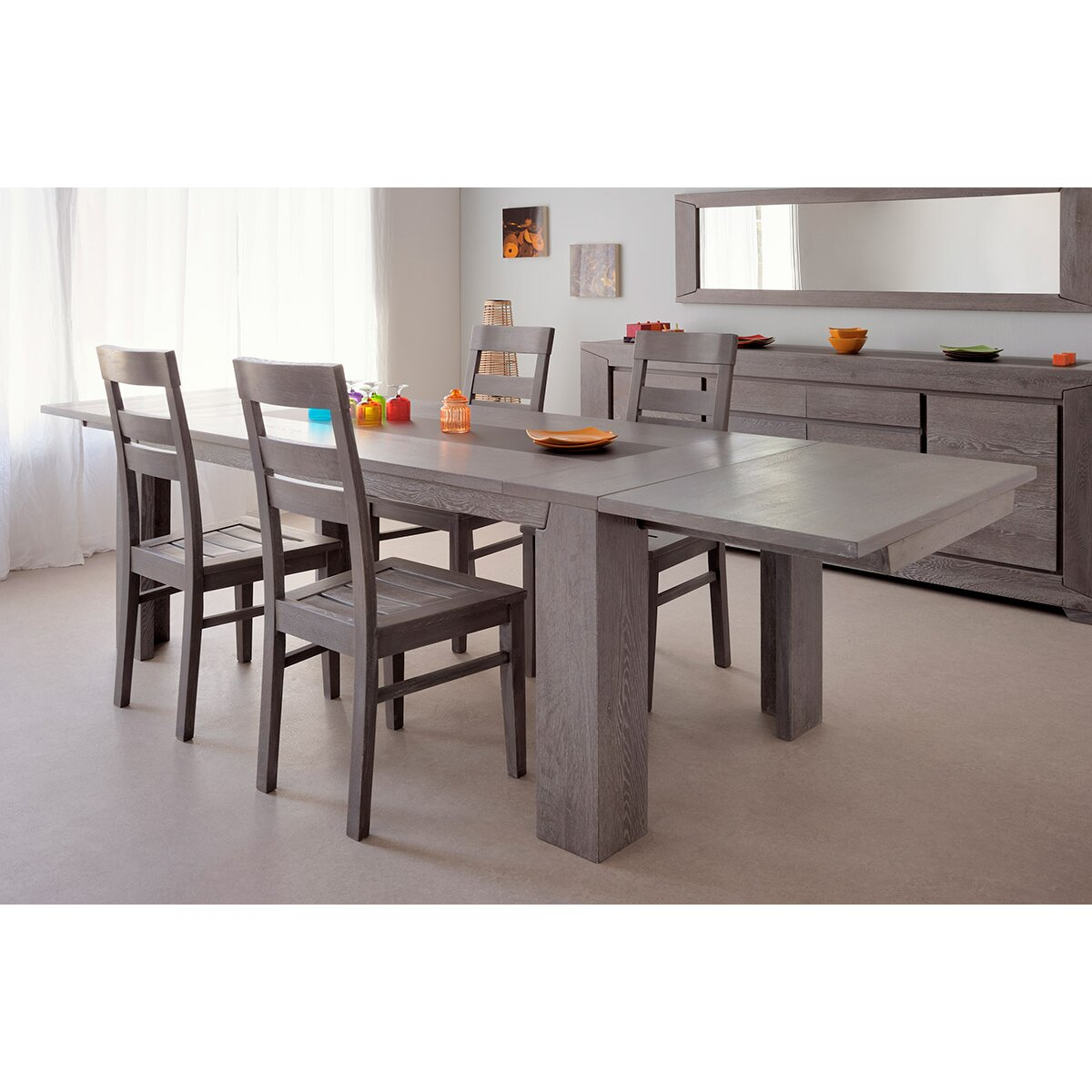 Parisot Titan Extendable Dining Table & Reviews | Wayfair
