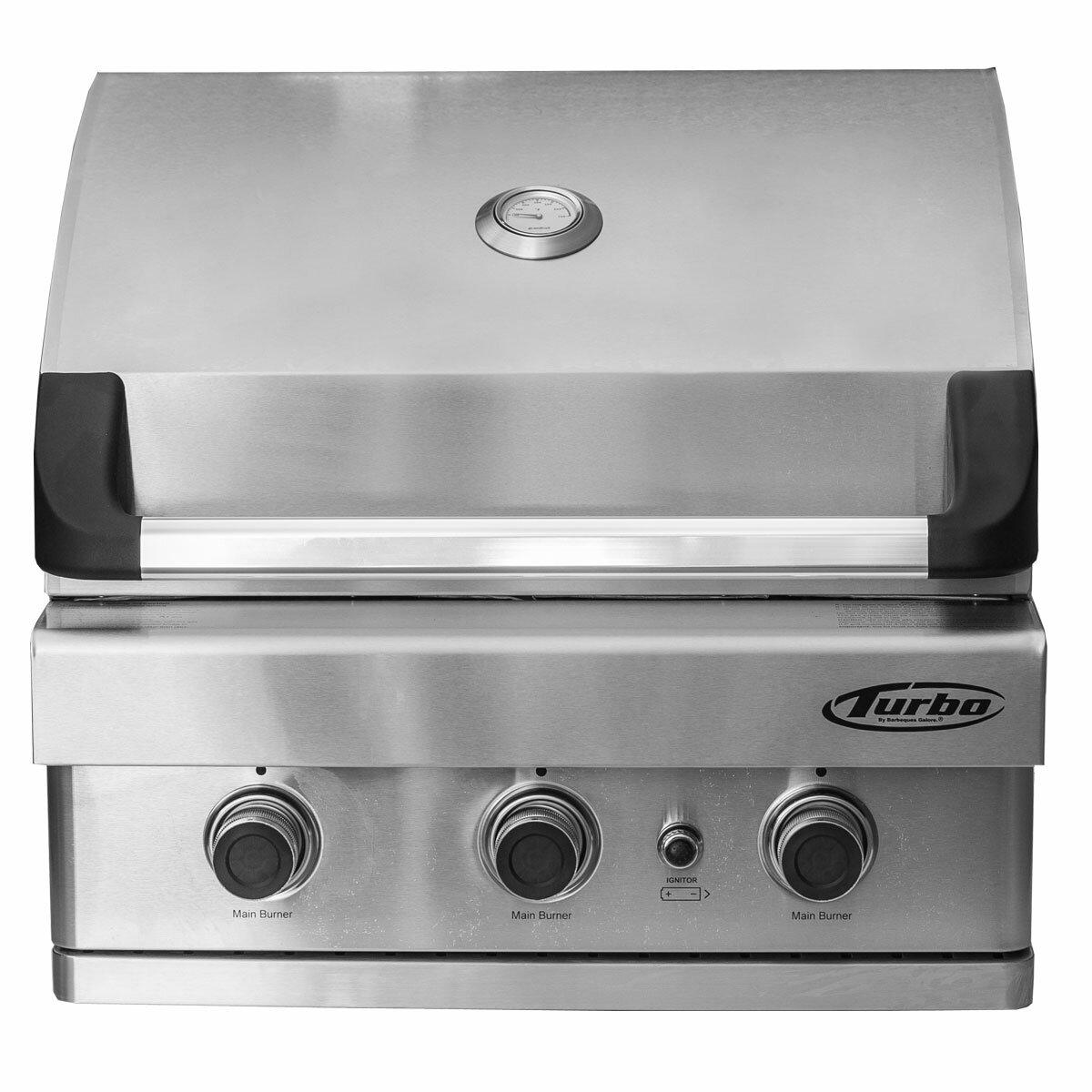 blaze grills 25 grill cart for 3 burner gas grill reviews wayfair ...