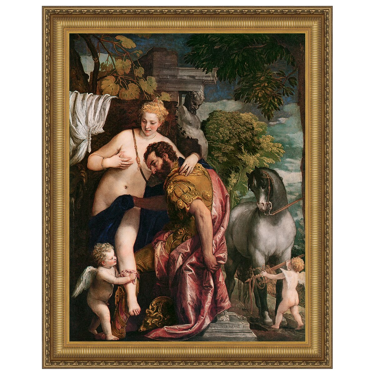 Mars And Venus In The Bedroom: Design Toscano Venus And Mars United By Love, 1570 By