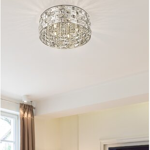 Everly Quinn Thaxted 5-Light Flush Mount
