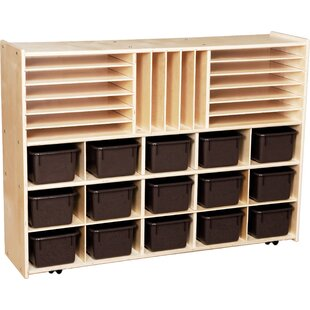 Price comparison Contender 32 Compartment Cubby with Trays ByWood Designs