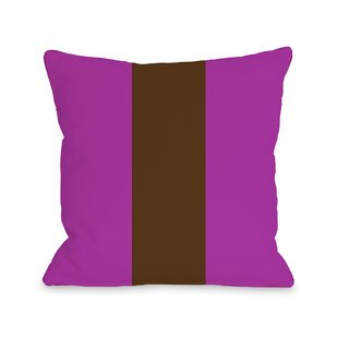 Main Line Throw Pillow