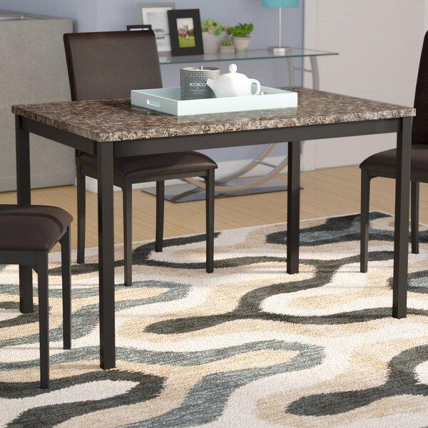 & Faux Granite Dining Table | Wayfair