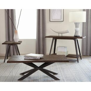 Leda 3 Piece Coffee Table Set by 17 Stories