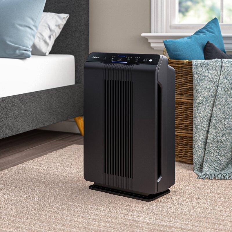 Winix Plasma Wave 5500-2 True HEPA Air Purifier with AOC Washable Carbon Filter
