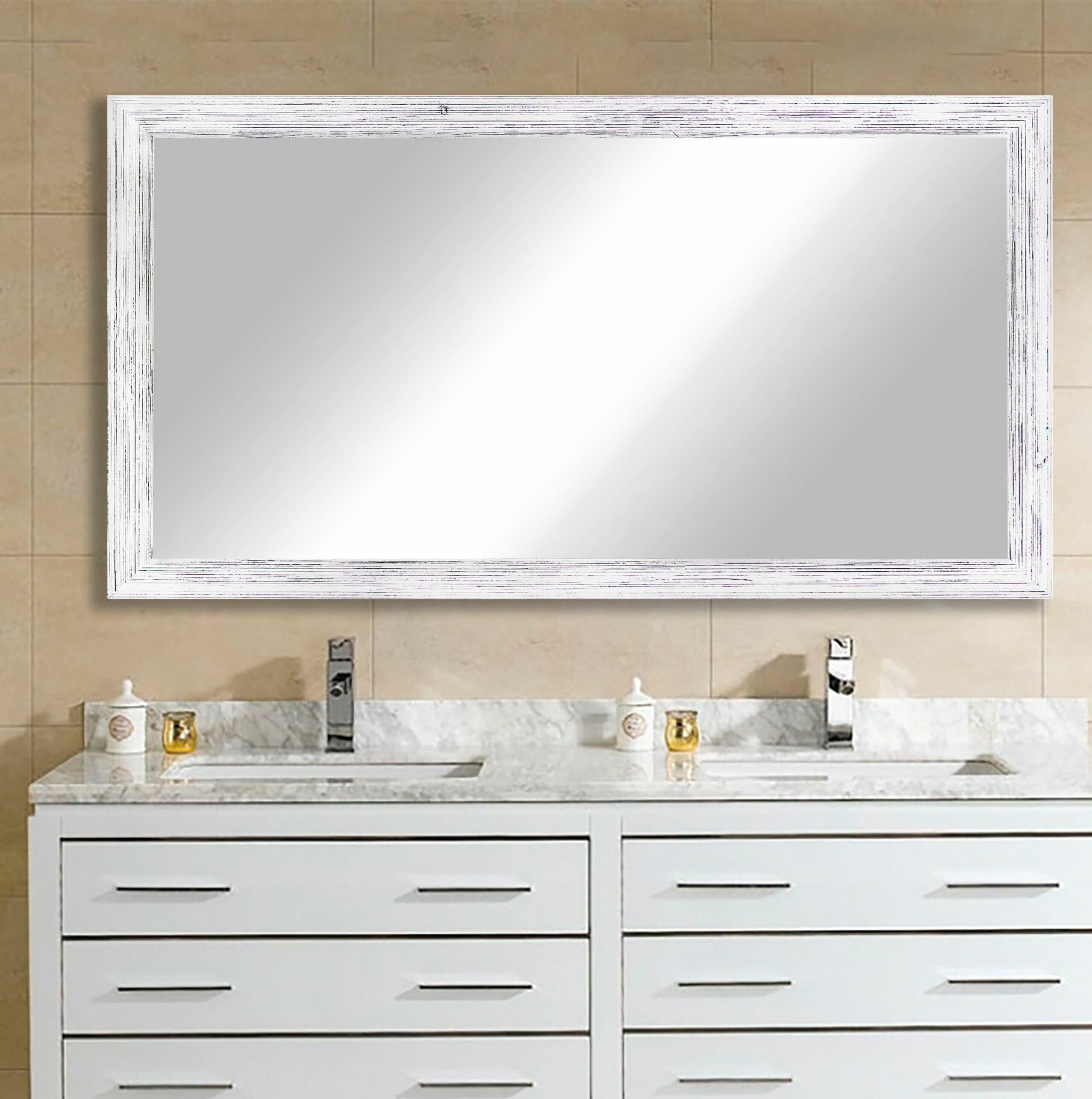 August Grove Kincade Rustic Bathroom Vanity Mirror Reviews