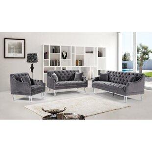 Rosdorf Park Jonathon Configurable Living Room Set
