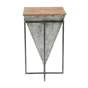 Reviews Arie inverted Pyramid Table ByWilliston Forge