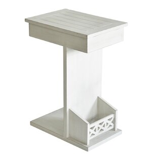 Buy luxury Christmas Wooden End Table by Highland Dunes