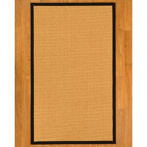 Buggs Hand Woven Brown Area Rug