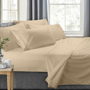 Tuttle 6 Piece Classic Bed Solid Sheet Set