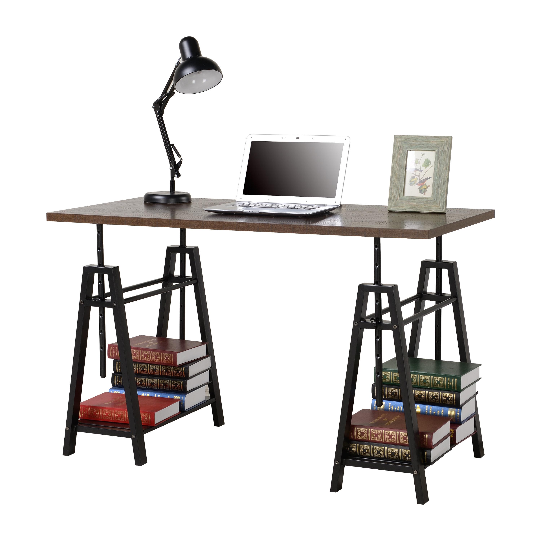 Williston Forge Tyne Adjustment Height Standing Desk Reviews Wayfair