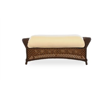 Lloyd Flanders Grand Traverse Ottoman wit..