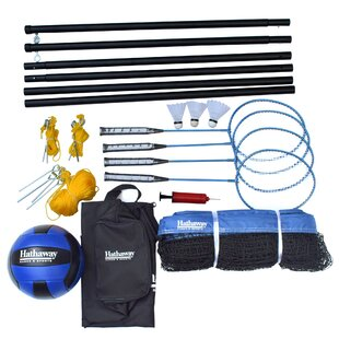 Hathaway Games Volleyball/Badminton Complete Combo Set