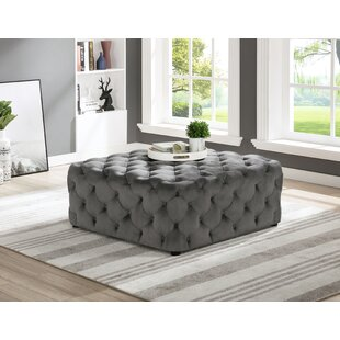 Newman Square Tufted Cocktail Ottoman By Rosdorf Park