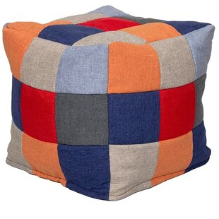 Helmick Patchwork Pouffe By 17 Stories