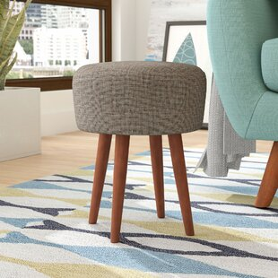 Linda Janelle Upholstered Accent Stool by Modern Rustic Interiors