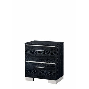 Karole 2 Drawer Nightstand