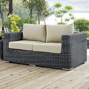 Brayden Studio Keiran Loveseat with Cushions